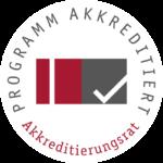 Logo Programm akkreditiert