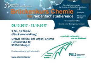 Poster Brückenkurs Chemie Nebenfach 2017