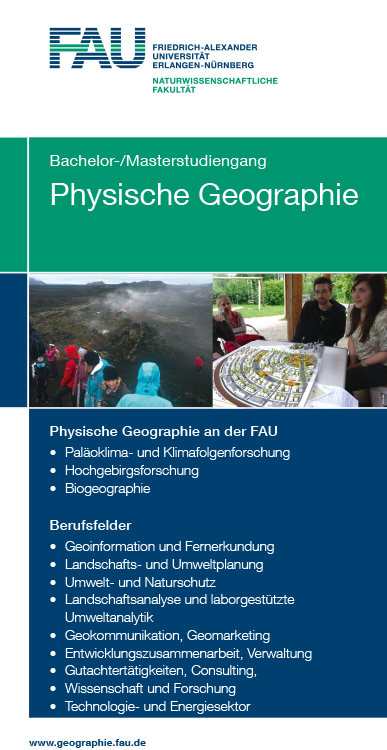 4-Screen Studiengang Physische Geographie (Bild: FAU)