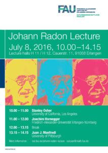 Poster Johann Radon Lecture