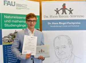 Eduard Koller, 1. Platz Mathematik 2017 (Bild: Harald Sippel)