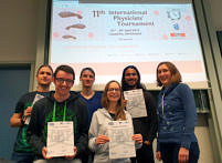 "Zum Artikel ""Erlanger Physikstudierende gewinnen das German Physicists' Tournament"""