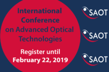 "Zum Artikel ""Einladung zur SAOT International Conference on Advanced Optical Technologies"""