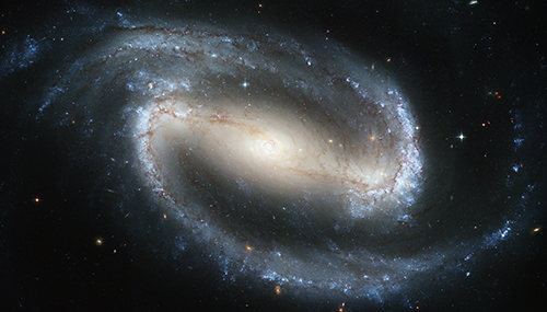 Das Bild zeigt die Milchstraße.