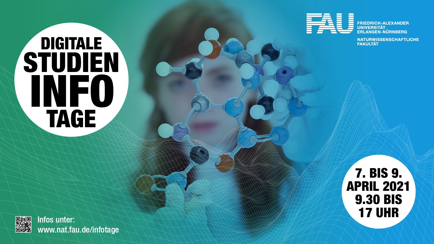 Poster digitale Studieninfotage 2021